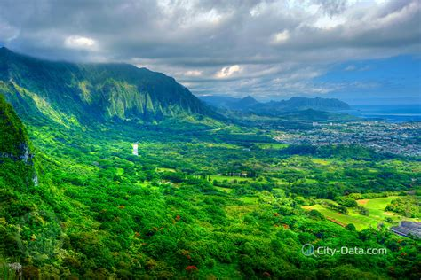 landscaping oahu mountains and landscape of oahu island