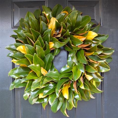 wreath for front door wreaths amusing magnolia wreaths for front door magnolia