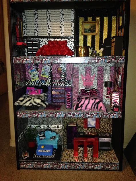 1000 Images About Monster High Doll House And Furniture Ideas On Pinterest Monster