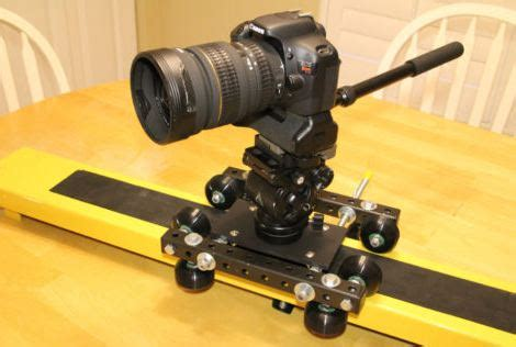 j.g. diy cinemover ladder dolly | cheesycam
