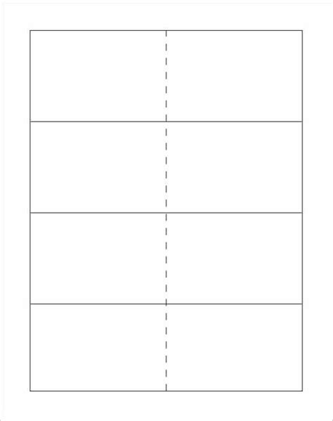 Free Blank Card Template To Print by Blank Printable Flash Cards Site Top Template