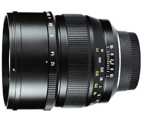 mitakon speedmaster 85mm f/1.2 officially announced