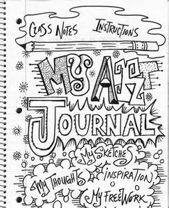 the lost sock art class journaling