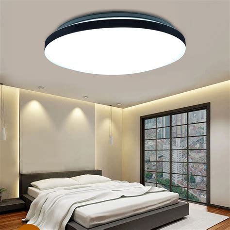 18w Round Led Ceiling Light Fixture Lighting Flush Mount Led Bedroom Light Fixtures