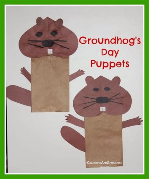 groundhog day crafts some of the best things in are mistakes groundhog