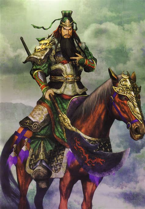guan yu shu characters amp art dynasty warriors 5