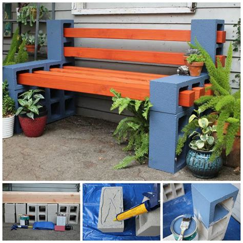 cinder block bench diy 10 creative ideas to decorate with concrete blocks home