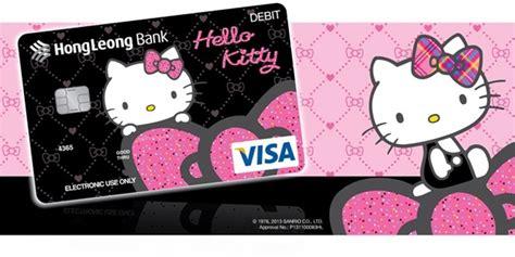 hong leong bank debit card hong leong hello glamorous black debit card