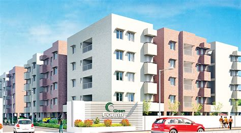 sustainable apartment plans and elevations main elevation image 1 of green valleys county apartment unit available at peelamedu coimbatore