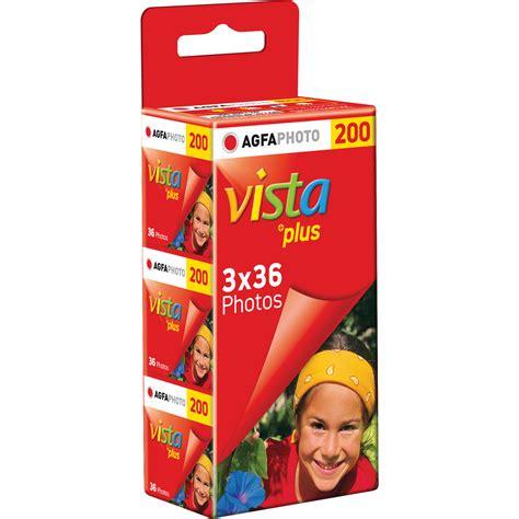 Agfa Vista 200 Fresh agfaphoto vista plus 200 color negative 1175239 b h photo