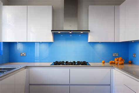 Purple Kitchen Backsplash could bespoke glass splashbacks give your kitchen a new