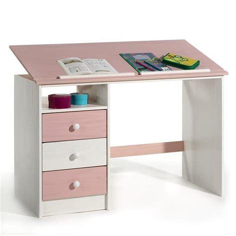 bureau enfant cdiscount bureau enfant 3 tiroirs lasur 233 blanc achat vente