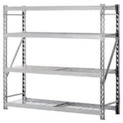 rack heavy duty 4 level welded steel treadplate