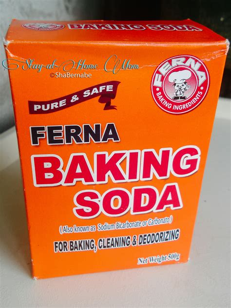 exfoliating using baking soda stay at home