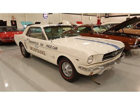 1967 Ford Mustang Premium Auction Database American Car Collector 1965 Ford Mustang Pace Car Replica Premium Auction Database American Car Collector