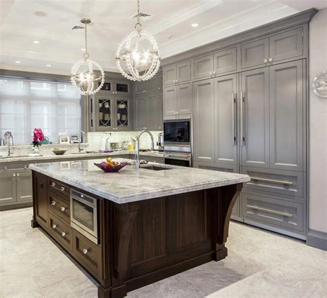 kitchens with islands photo gallery draper dbs gallery transitional kitchen gray walnut