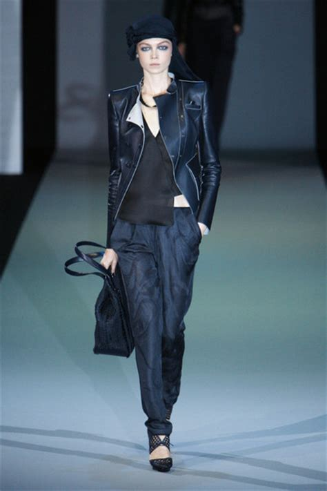 Catwalk To Carpet In Giorgio Armani by Giorgio Armani Catwalk Fashion Show Milan Ss2011 Team