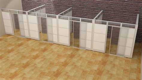 Modular Office Walls by Laminate Office Demountable Walls Room Dividers Cubicle