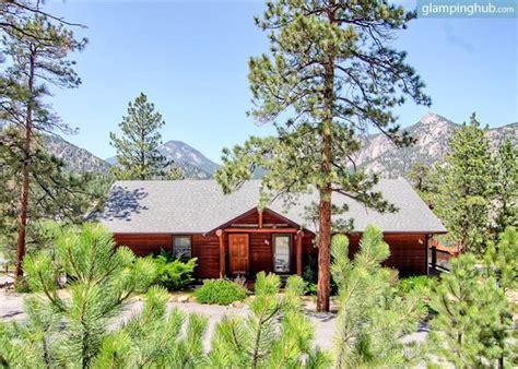 log cabin rental near rocky mountain national park
