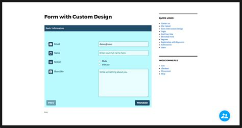 user registration form template registrationmagic custom registration forms
