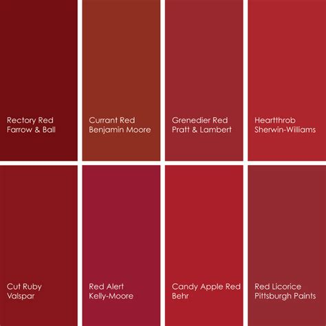 shades of red color chart green color chart for car 2017 2018 best cars reviews
