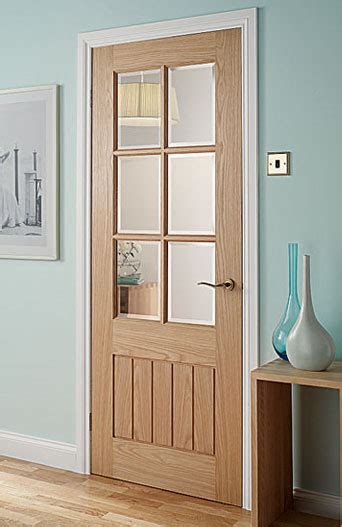 Interior Doors Glazed Mexicana Dordogne 6 Light Pre Glazed Interior Door
