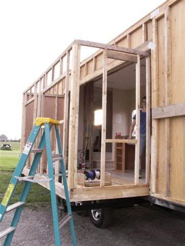 tiny house with slide out this is fantastic check out how to build a slide out for