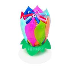 Lotus Musical Birthday Candle The Original Musical Flower Birthday Candle 14 Candles