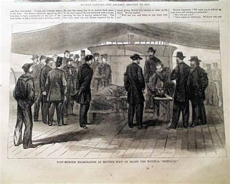 wilkes booth is hunted killed lincoln s funeral