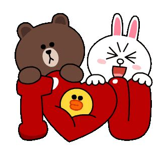 Kaos Line Emoticon Brown 17 line stickers brown cony s thrilling date free