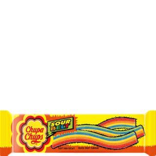 Chupa Chups Sour Belt Chupa Chups Sour Belt Mixed Fruit Flavour 8 Belts 57 6 G