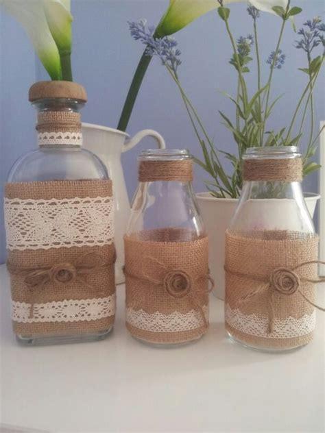 frascos decorados tipo vintage decoraci 243 n navide 241 a con papel frascos pi 241 as telas y