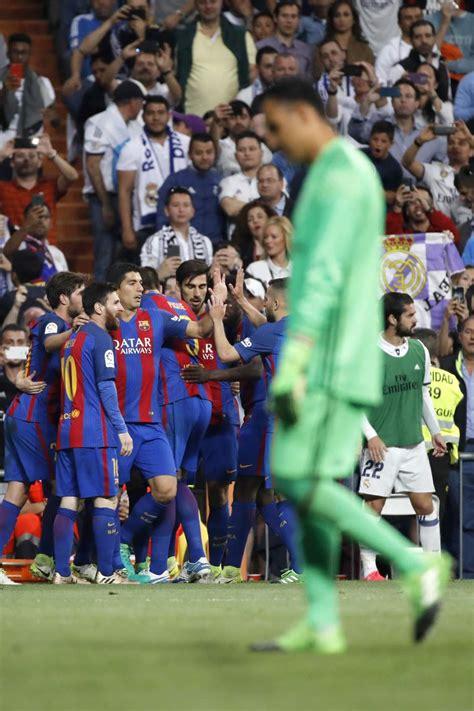 imagenes real madrid barcelona 2017 un gol de messi en el 92 decanta el cl 225 sico a favor del