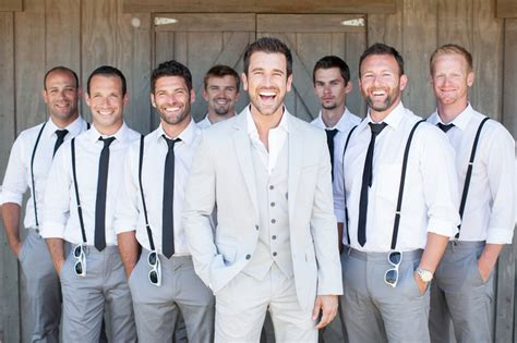 Wedding Attire For Groomsmen by Ideas Groomsmen Attire Casual Wedding Pictures