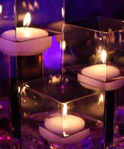 candle centerpieces for wedding reception 24 floating candles wedding table reception centerpiece
