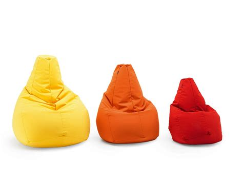 sacco poltrona zanotta pouf poire rembourr 233 sacco medium by zanotta design cesare