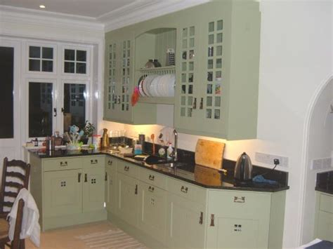 Arts And Crafts Kitchen Design Charles Rennie Cr Mackintosh Glasgow Fitted Painted