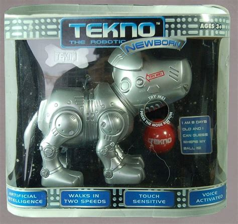 tekno robotic newborn puppy tekno the robotic puppy the robot s web site