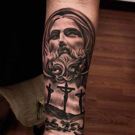 tattoo designs jesus christ best jesus tattoos www pixshark images galleries