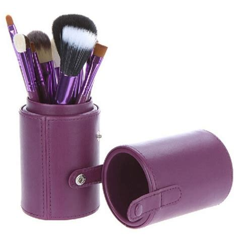 Kuas Set Fashion Kuas Blush On Kuas Eyeshadow Kuas Make Up kuas make up 12 set dengan purple jakartanotebook