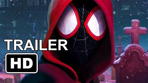 watch the first trailer for the animated miles morales spider man spider man into the spider verse trailer 2018 first