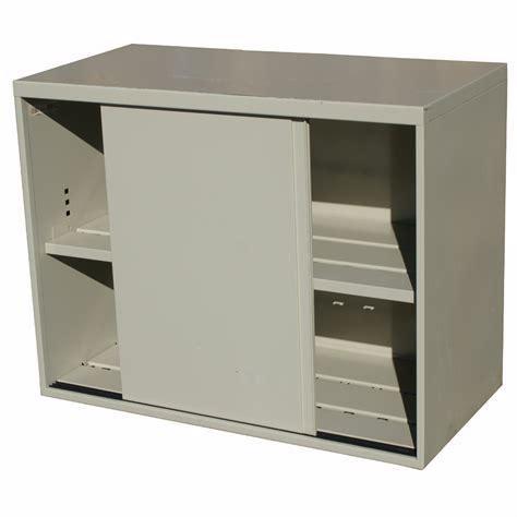 Metal Cabinet With Doors 36 Quot Mid Century Metal Credenza Cabinet Ebay