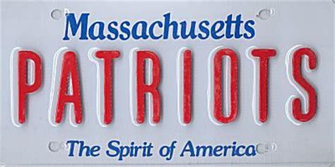 Vanity Plates Massachusetts by License Plate Massachusetts