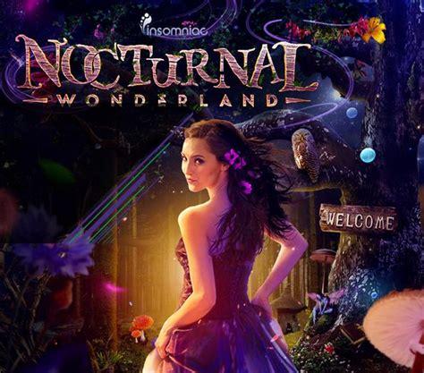 Nocturnal Wonderland Ticket Giveaway - nocturnal wonderland tickets the san manuel amphithetr ground on september 05 2014