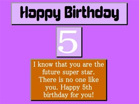 5th Birthday Quotes Best 5th Birthday Wishes Collections