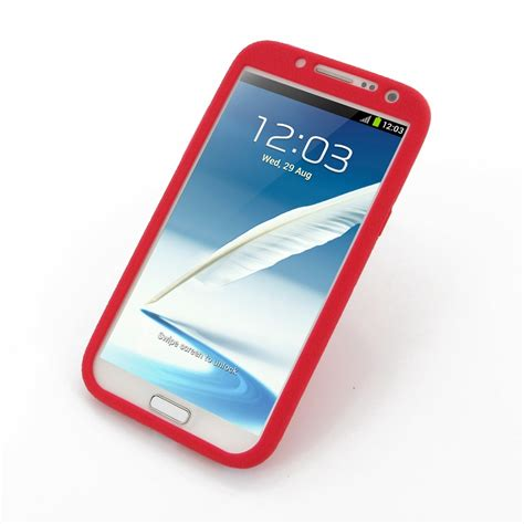 Silicon Casing Softcase Standing Samsung Note 2 N7100 samsung galaxy note 2 luxury silicone soft pdair 10