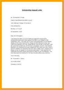 Exle School Appeal Letter Exles 5 How To Write An Appeal Letter For College Data Analyst Resumes