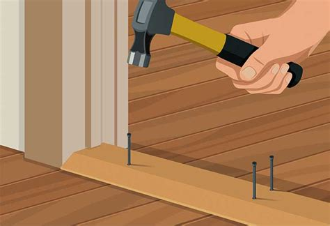 Interior Door Threshold Installation How To Remove And Replace A Threshold At The Home Depot