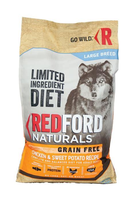 redford naturals food redford naturals limited ingredient diet grain free large breed chicken sweet potato