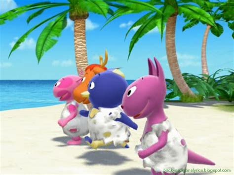 Backyardigans Volcano Episode Image Backyardigans Castaways Png Smash Bros